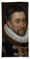 William I, Prince Of Oranje, 1579 Hand Towel
