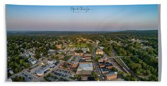 Willimantic Panorama Hand Towel