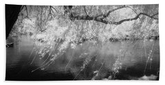 Willow Tree Lake II Hand Towel