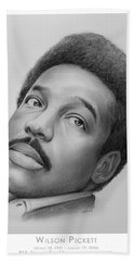 Wilson Pickett Hand Towel by Greg Joens