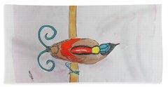 Wilson's Bird Of Paradise Bath Towel