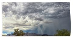 Hand Towel featuring the photograph Wind And Rain by Rick Furmanek