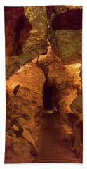 Bath Towel featuring the photograph Wind Cave National Park by Brenda Jacobs