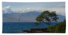 Wind Turbines - Maui Bath Towel