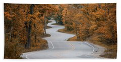 Winding Road Hand Towel