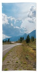 Winding Through The Tetons Hand Towel