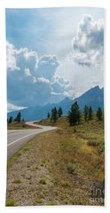 Winding Through The Tetons Bath Towel