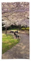 Winding Trail To The Tidal Basin Hand Towel