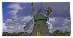 Windmill Amrum Germany Bath Towel