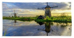 Windmills Hand Towel