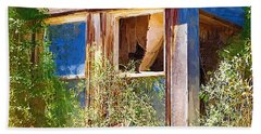 Hand Towel featuring the photograph Window 2 by Susan Kinney