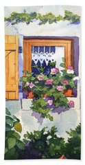 Window At St Saturnin Hand Towel