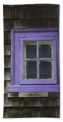 Purple Window - Window Series 04 Hand Towel