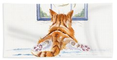 Window Shopping Bath Towel
