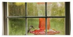Window Sweet Hand Towel by Denis Lemay