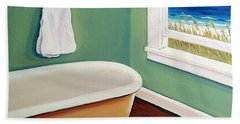 Window To The Sea No. 4 Hand Towel