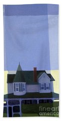 Windows Hand Towel by Donald Maier