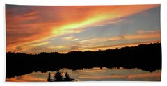 Windows From Heaven Sunset Bath Towel