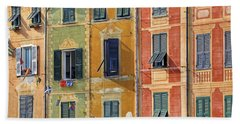 Windows Of Portofino Hand Towel