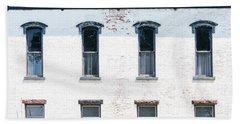 Windows Of The Past Bath Towel