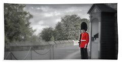Windsor Castle Guard Bath Towel