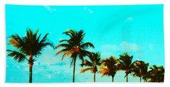 Windy Day On N Roosevelt Bld Key West Bath Towel
