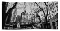 Windy Mornings In The Chi  Hand Towel