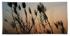 Windy Sunset Hand Towel