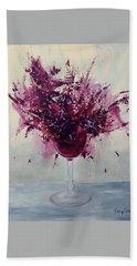 Wine Bouquet Hand Towel