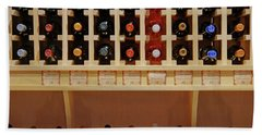 Hand Towel featuring the photograph Wine Rack - 1 by Nikolyn McDonald