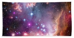 Wing Of The Small Magellanic Cloud Hand Towel