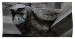 Winged Gargoyle Hand Towel