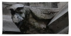 Winged Gargoyle Hand Towel