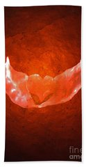 Winged Heart Hand Towel