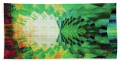 Hand Towel featuring the digital art Winged Migration by Paula Ayers