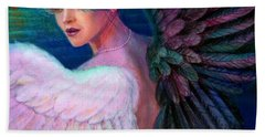 Wings Of Duality Hand Towel