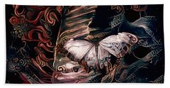 Wings Of The Night Bath Towel by Susan Maxwell Schmidt