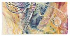 Wings Of Transformation Bath Towel