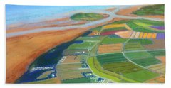 Wings Over Grand Pre' Bath Towel by Rae  Smith