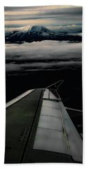 Wings Over Rainier Bath Towel