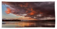 Winnisquam Sunset Bath Towel