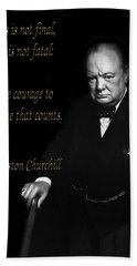 Winston Churchill 1 Bath Towel