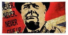 Winston Churchill 2 Bath Towel