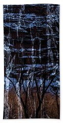 Winter Abstract Hand Towel