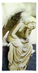Winter Angel Bath Towel