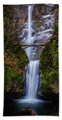 Winter At Multnomah Falls 2 Bath Towel