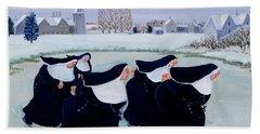 Winter At The Convent Bath Towel