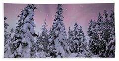 Winter Beauty Hand Towel by Sheila Ping