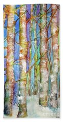 Winter Birch Hand Towel
