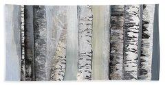 Winter Birches Hand Towel